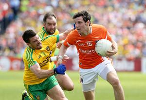 Win-win situation: Jamie Clarke wants new experiences while Armagh will be left with a fully committed panel