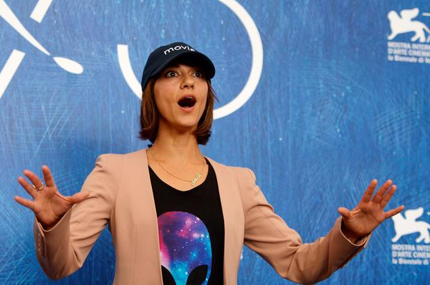 "Director Ana Lily Amirpour attends the photocall of the movie ""The Bad Batch"" presented in competition at the 73rd Venice Film Festival on September 6, 2016 at Venice Lido.FILIPPO MONTEFORTE/AFP/Getty Images"