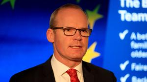"""Tanaiste Simon Coveney said the European Union will be tailored to a time line that will force choices and a """"very intense"""" negotiation."""