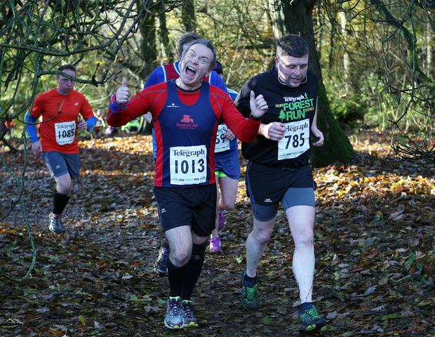Mandatory Credit - Picture by Freddie Parkinson/Press Eye © Saturday 19th November 2016 Belfast Telegraph Run Forest Run Drum Manor Forest Park, Drum Road, Cookstown BT80 9RT Colin McCrum Carrickfergus