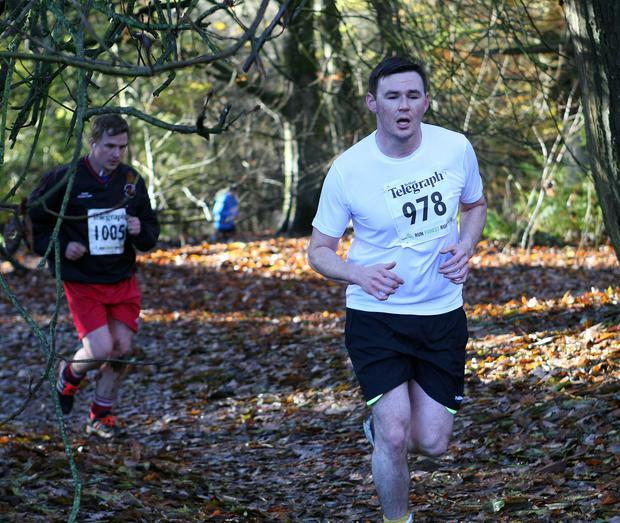 Mandatory Credit - Picture by Freddie Parkinson/Press Eye © Saturday 19th November 2016 Belfast Telegraph Run Forest Run Drum Manor Forest Park, Drum Road, Cookstown BT80 9RT Patrick Lundy Stockport