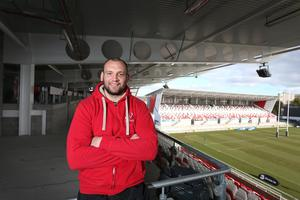 Dan Tuohy spent seven years at Ulster, from 2009 to 2016.