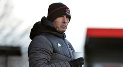 Stephen Baxter will have to reshuffle his pack over a busy December period.