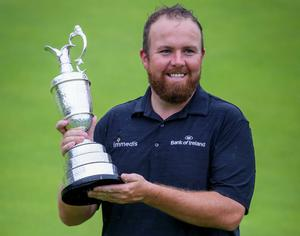 Shane Lowry after winning The Open in Portrush