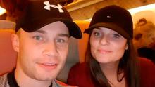 LOYALTY: Carl Frampton has always been able to rely on the unstinting support of his wife Christine