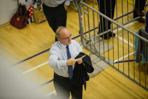 Barry McElduff, Sinn Fein candidate for West Tyrone at the election count in Omagh.  Picture: Ronan McGrade/Pacemaker Press