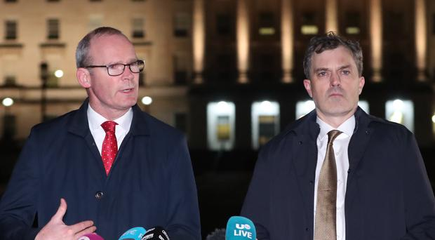 Irish language measures in the new proposed deal will not offend anyone, Foreign Affairs Minister Simon Coveney said (Niall Carson/PA).