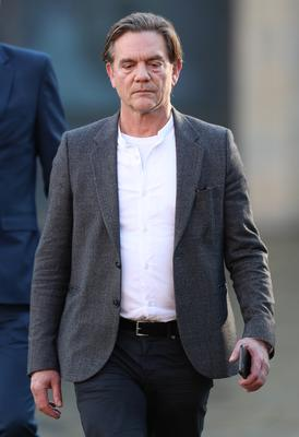 Actor John Michie outside Winchester Crown Court (Andrew Matthews/PA)