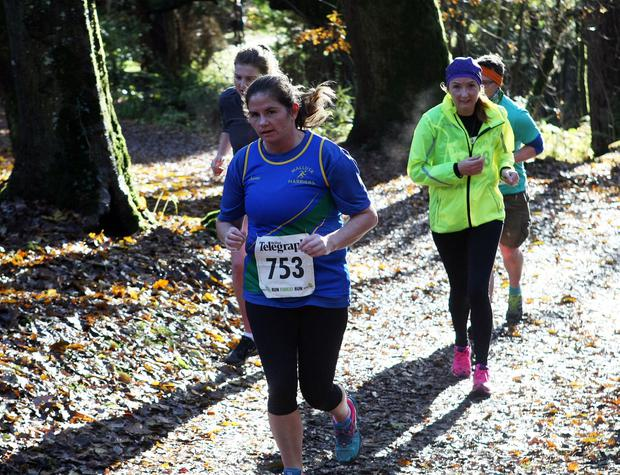 Mandatory Credit - Picture by Freddie Parkinson/Press Eye © Saturday 19th November 2016 Belfast Telegraph Run Forest Run Drum Manor Forest Park, Drum Road, Cookstown BT80 9RT Kelly	 Carlisle Newtownabbey