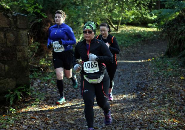 Mandatory Credit - Picture by Freddie Parkinson/Press Eye © Saturday 19th November 2016 Belfast Telegraph Run Forest Run Drum Manor Forest Park, Drum Road, Cookstown BT80 9RT Lynn Phun Portadown
