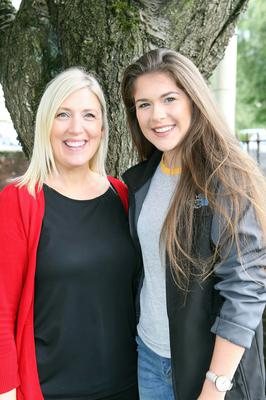 Mandatory Credit - Picture by Freddie Parkinson/Press Eye © Thursday 15 August 2019 Ballyclare High School A Level Results on the increase once again in Ballyclare High School. Mrs Sharon Kent head of year 14 with Lucy McCammond 3A