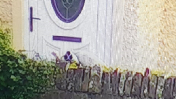 The mortar device discovered in Strabane