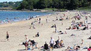 People currently shielding will be allowed to socialise outside from next week. Photograph by Declan Roughan