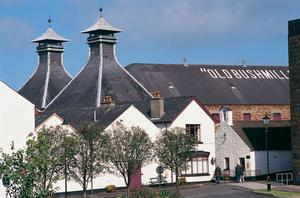 The Old Bushmills Distillery in Co Antrim