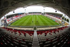 Ulster's Kingspan Stadium could host the final of the European Champions Cup