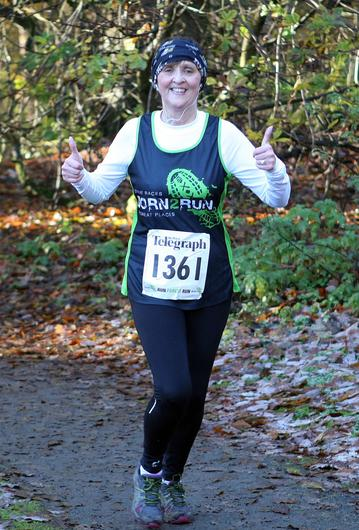 Mandatory Credit - Picture by Freddie Parkinson/Press Eye © Saturday 19th November 2016 Belfast Telegraph Run Forest Run Drum Manor Forest Park, Drum Road, Cookstown BT80 9RT Mary  Callaghan from Castleblayney
