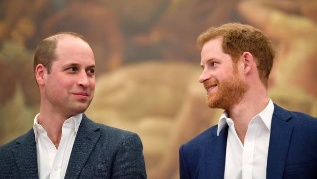 The Duke of Cambridge and Prince Harry have taking part in a recording a radio message to raise awareness of mental health (Toby Melville/PA)