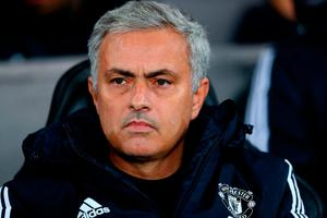 Good day: Jose Mourinho was happy with the victory
