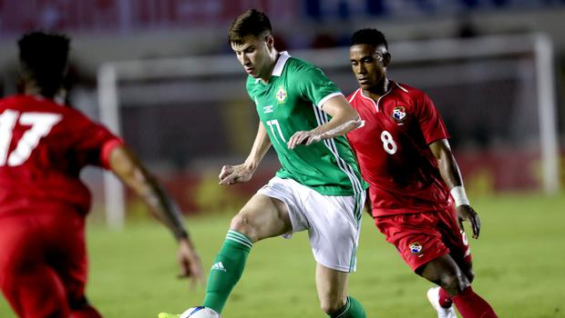 Paddy McNair was Northern Ireland's stand-out player against Panama.