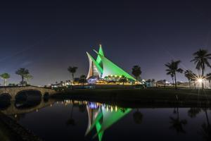 The Dubai Creek Golf and Yacht Club (Tourism Ireland/PA)