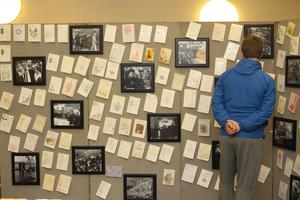 21/10/18 PACEMAKER PRESS An exhibition was opened to commerate the victims of the Shankill Bombing in the Methodist Church on the shankill Road.  PICTURE MATT BOHILL PACEMAKER PRESS