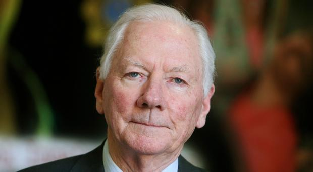 Irish broadcaster Gay Byrne has died at the age of 85 after a long illness, RTE said (Brian Lawless/PA)