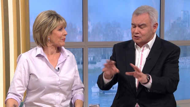 Eamonn and Ruth on This Morning (ITV)