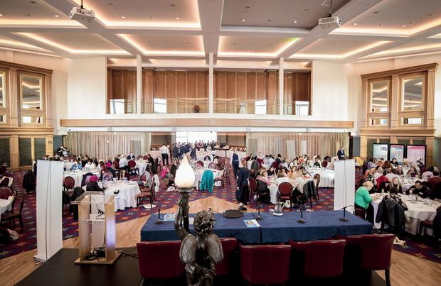 General view of the All-Island Congenital Heart Disease Network Conference 2019 on November 8th 2019 (Photo by Kevin Scott for Belfast Telegraph)