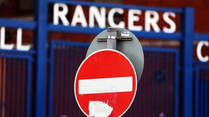 There will be no action at Ibrox on Sunday (Andrew Milligan/PA)