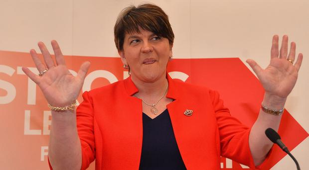 Arlene Foster has said she is open to cutting corporation tax