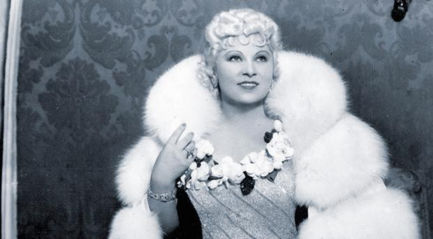 Hollywood icon: Mae West in the 1930s