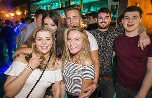 People out at Villa for Fat Wednesdays. Wednesday 3rd August 2016. Picture by Liam McBurney/RAZORPIX
