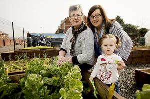 Duncairn Community Gardens received funding through the Live Here Love Here Small Grants Scheme.