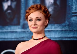 """HOLLYWOOD, CALIFORNIA - APRIL 10:  Actress Sophie Turner attends the premiere of HBO's """"Game Of Thrones"""" Season 6 at TCL Chinese Theatre on April 10, 2016 in Hollywood, California.  (Photo by Alberto E. Rodriguez/Getty Images)"""