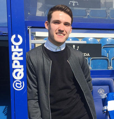 Former Linfield hero Paul Smyth is determined to make his mark at new club QPR.