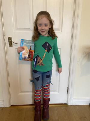 Emily, aged 5, from Ballymena