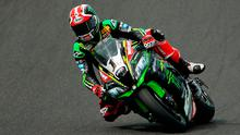 Dead heat: Jonathan Rea was tied for the fastest lap time in final practice