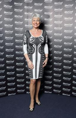 Pamela Ballantine (57), TV presenter, Belfast