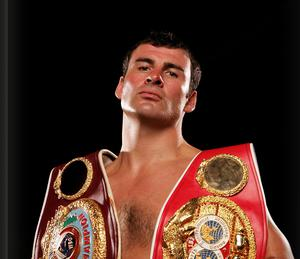 Joe Calzaghe poses during a photo session on October 3, 2007 in Newport, Wales.