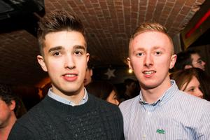 Ollies Night club pictured  Lee Wilson and Killian Muldoon
