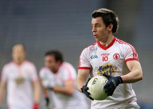 Matthew Donnelly is proving an able successor to Brian Dooher in the Tyrone side in terms of work-rate and inspiration