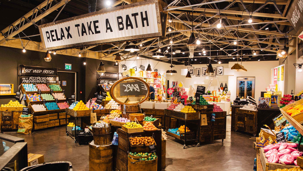 The Northern Ireland firm is fitting out the Lush store in Liverpool.
