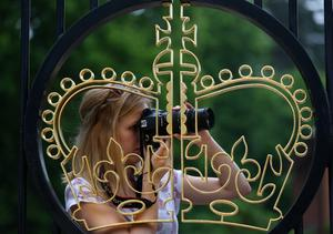 ASCOT, ENGLAND - JUNE 20:  A racegoer looks on during Ladies' Day on day three of Royal Ascot at Ascot Racecourse on June 20, 2013 in Ascot, England.  (Photo by Paul Gilham/Getty Images)