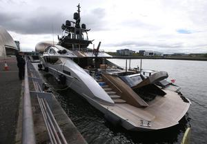 Lady M during a recent visit to Glasgow