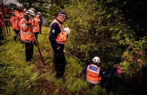 Search and rescue teams in north Belfast search for missing Noah Donohoe on June 23rd 2020 (Photo by Kevin Scott for Belfast Telegraph)