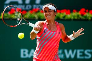 Over and out: Heather Watson