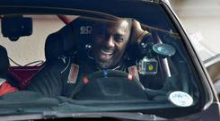 World famous actor Idris Elba has been trying out a new role as a rally driver on the roads of Monaghan this week before taking part in Easter weekend's Circuit of Ireland Rally.