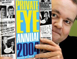 Ian Hislop has edited Private Eye magazine for more than 30 years (Peter J Jordan/PA)