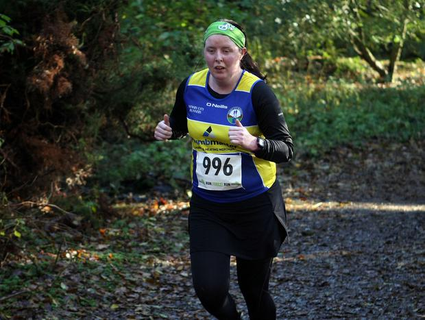 Mandatory Credit - Picture by Freddie Parkinson/Press Eye © Saturday 19th November 2016 Belfast Telegraph Run Forest Run Drum Manor Forest Park, Drum Road, Cookstown BT80 9RT Jennifer McAteer from Newry