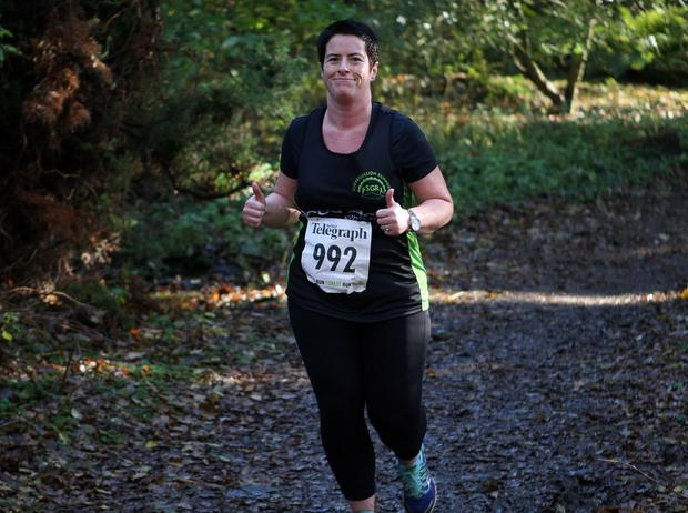 Mandatory Credit - Picture by Freddie Parkinson/Press Eye © Saturday 19th November 2016 Belfast Telegraph Run Forest Run Drum Manor Forest Park, Drum Road, Cookstown BT80 9RT Catherine	Marmion from Meigh